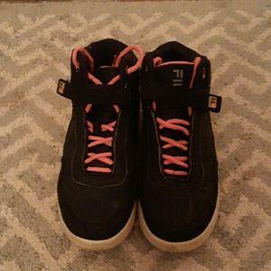 Fila shoes girls hightop